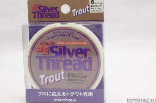 UNITIKA PE Silver Thread Trout